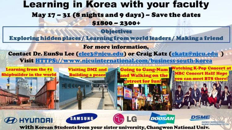 Faculty-Led trip to Korea